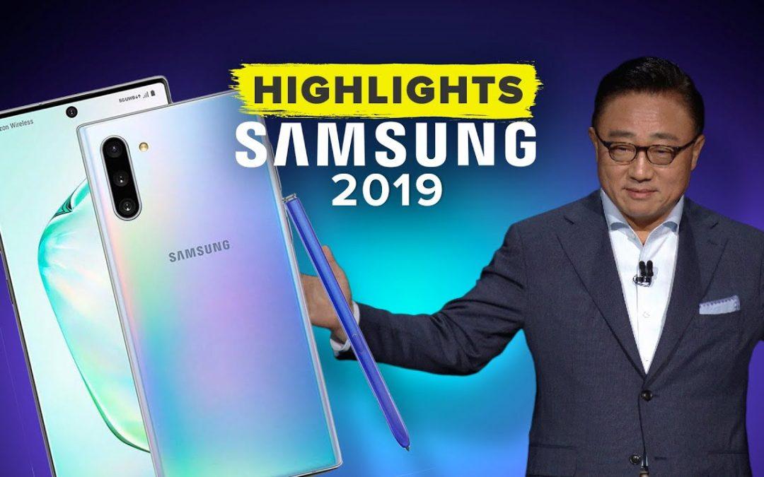 Samsung's Galaxy Unpacked 2019 Event