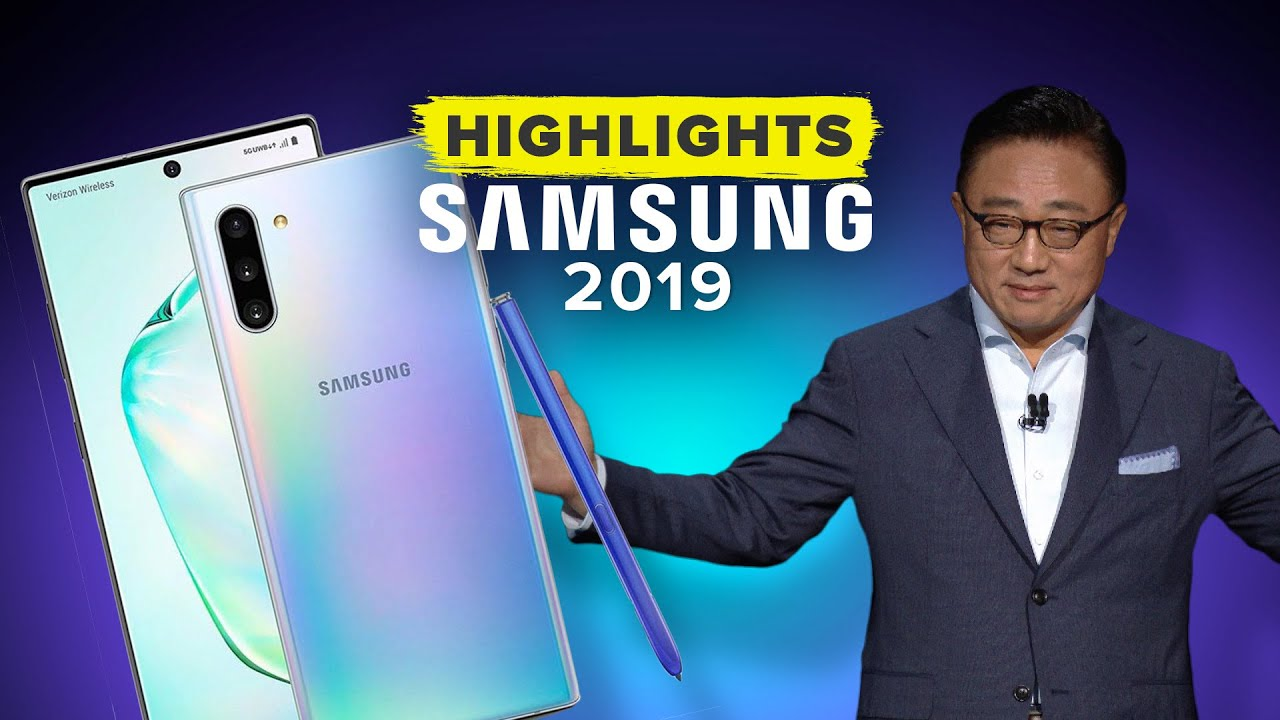Samsung's Galaxy Unpacked 2019 Event