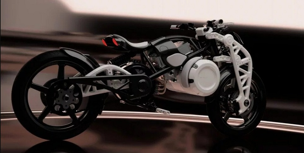 Curtiss Unveiled The Psyche! Modified Electric Bike