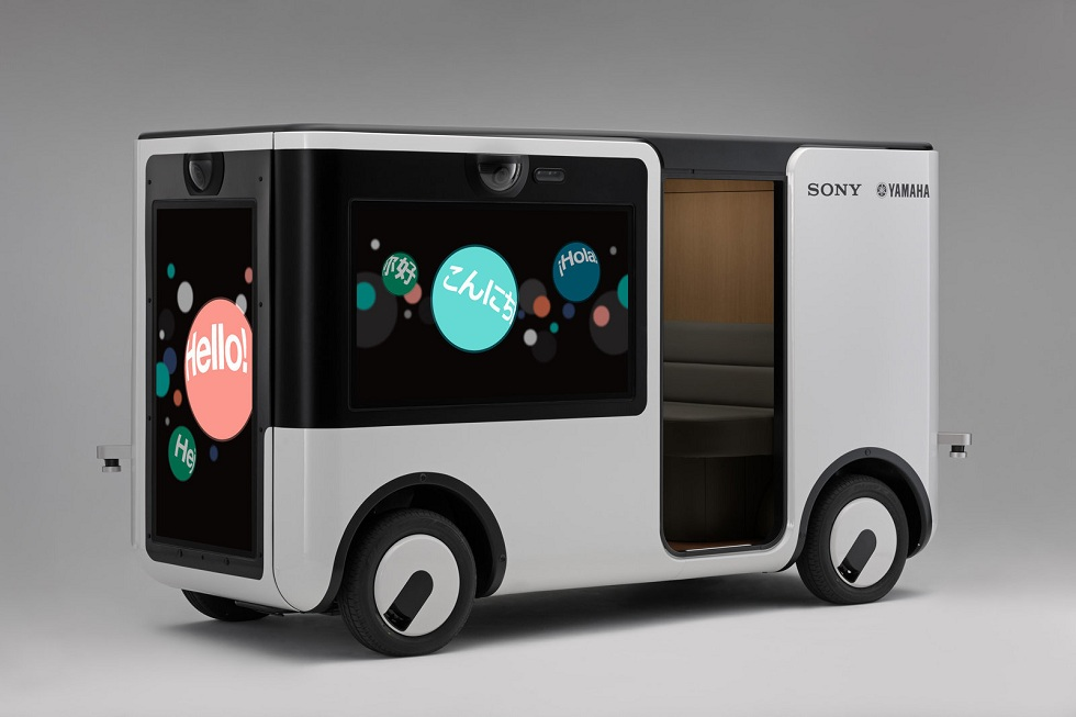 Sony and Yamaha to Make a Self-Driving Cart! SC-1 Sociable Cart