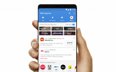 Microsoft's new SMS Organizer App! For Android