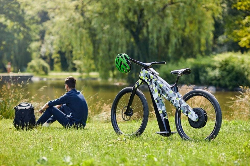 Skoda Klemet Concept e-Bike! Pedal Free