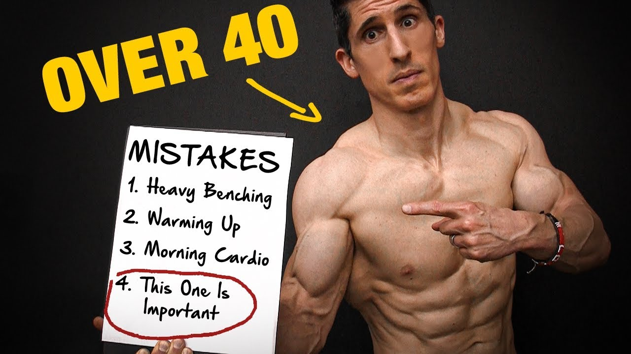 How to Avoid Mistakes While Gaining Muscles at 40