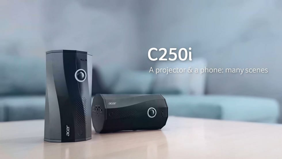Acer Lunches Portable Projector! C250i