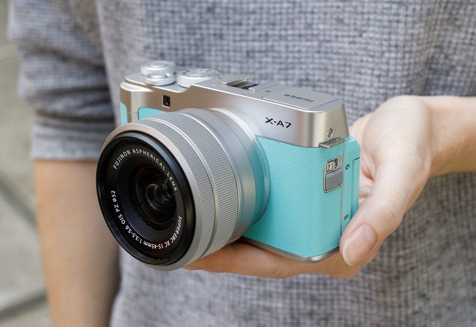 Fujifilm X-A7! Best Entry Level Camera