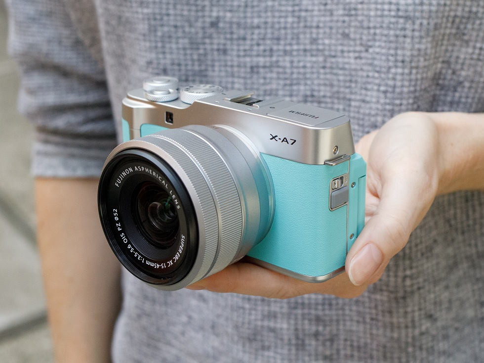 Fujifilm X-A7! Best Entry Level Camera