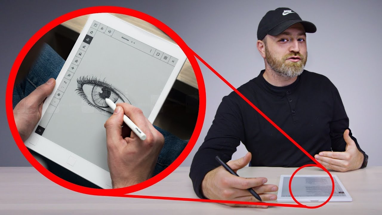 """It is Just """"reMarkable Tablet! The Paper Tablet"""