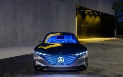 Mercedes-Benz Vision EQS! Electric S Class