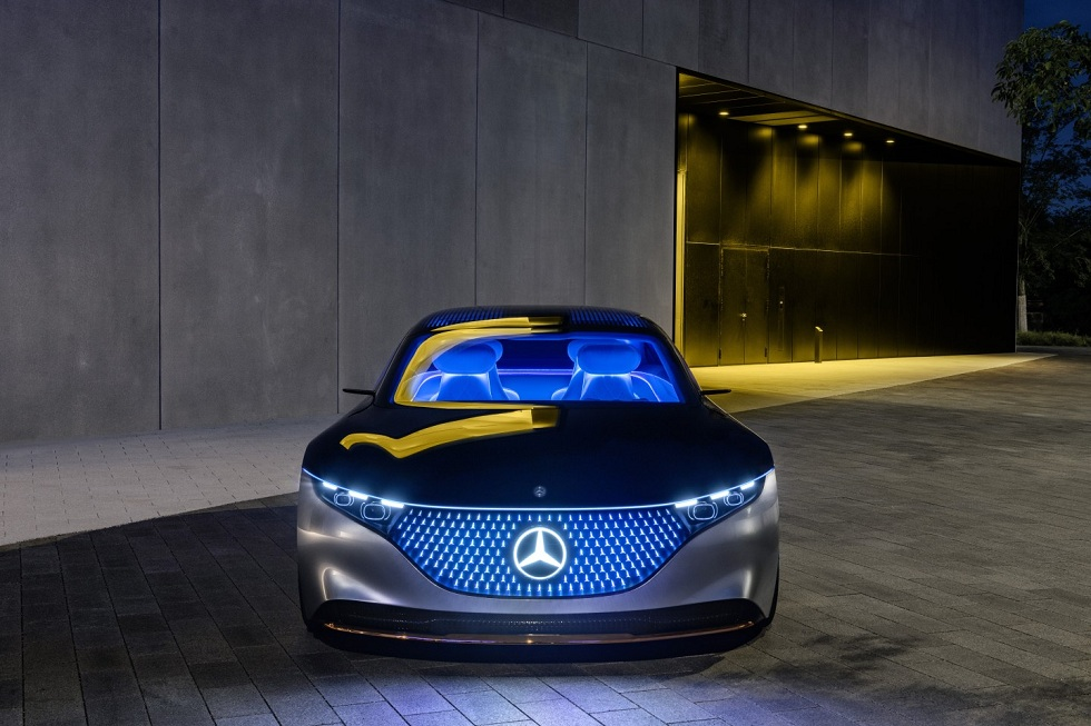 Mercedes-Benz Vision EQS! Electric S Class
