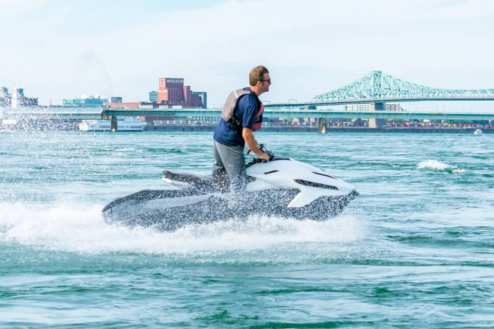 Taiga Motors' Orca Watercraft! The E-version