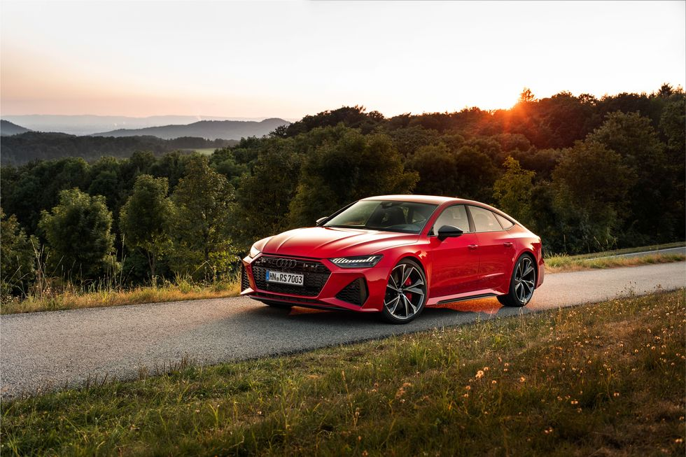 Review of Audi RS7 2020