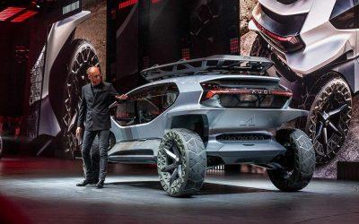 Audi AI: TRAIL Quattro! New Concept