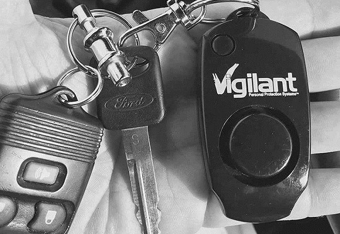 Vigilant Personal Alarm - Best Self Defense Gadgets