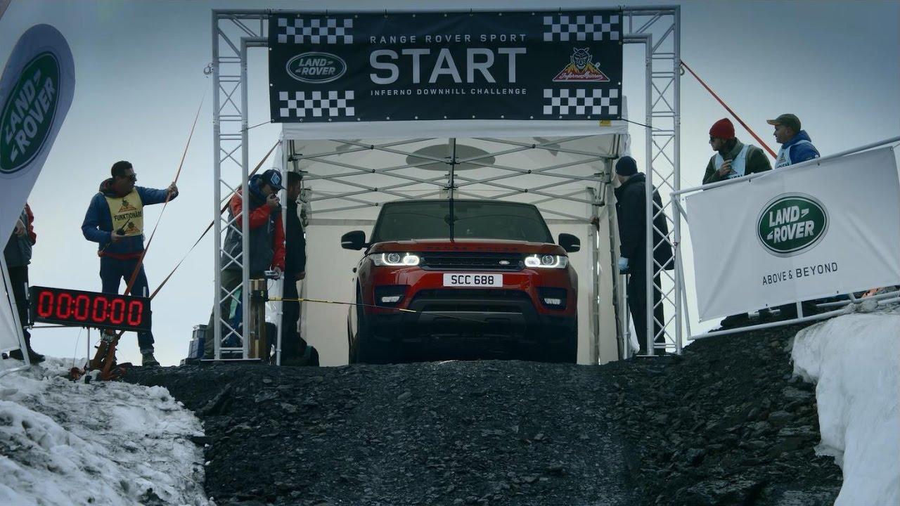 Range Rover Sport Inferno Downhill Challenge