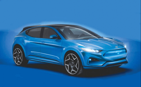 Ford Mustang Mach E Leaks: All-Electric SUV
