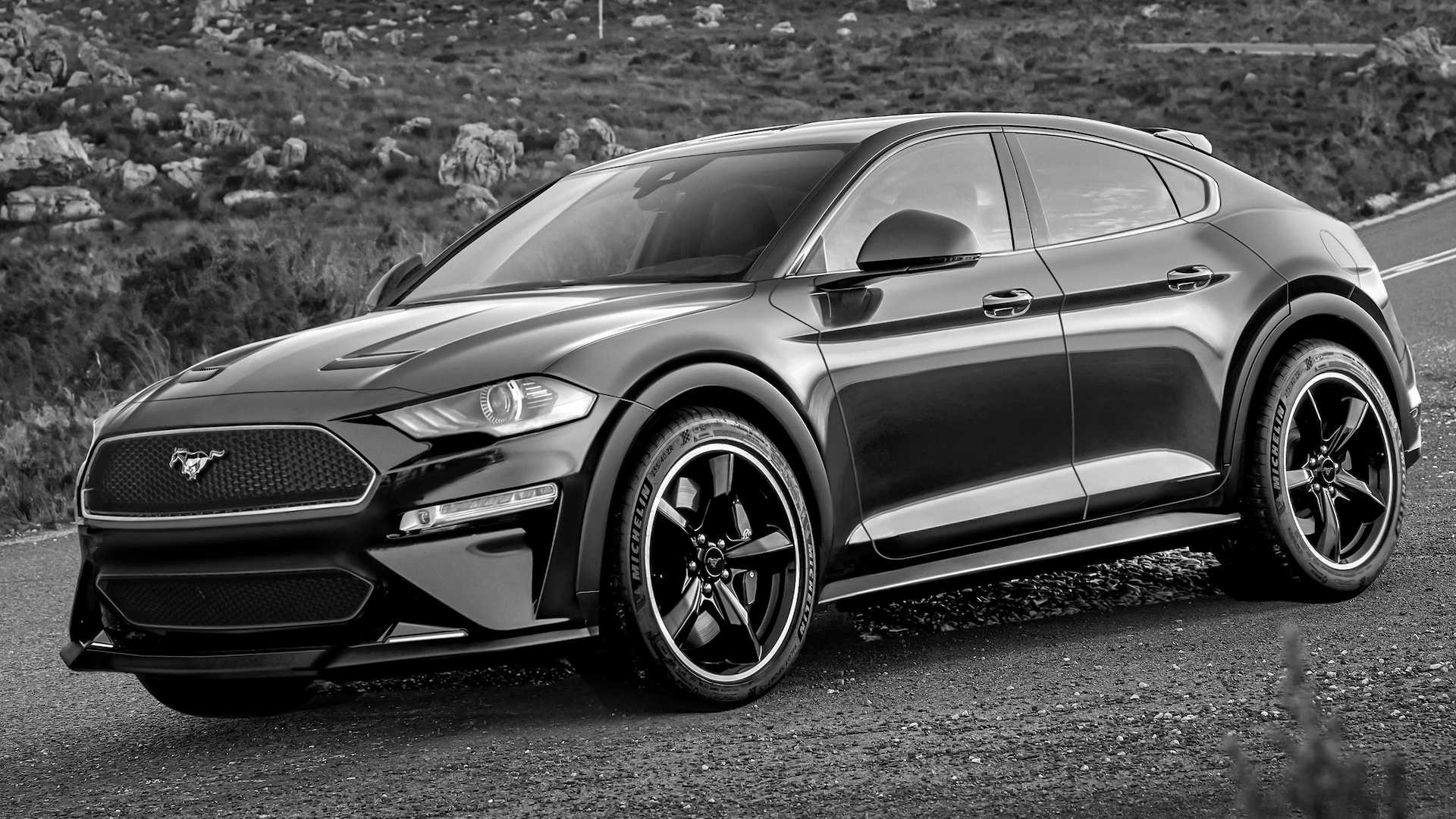 All-Electric SUV Ford Mustang Mach E