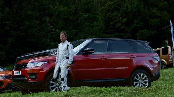 Range Rover Sport Downhill Challenge