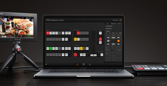 Blackmagic AETM Mini software