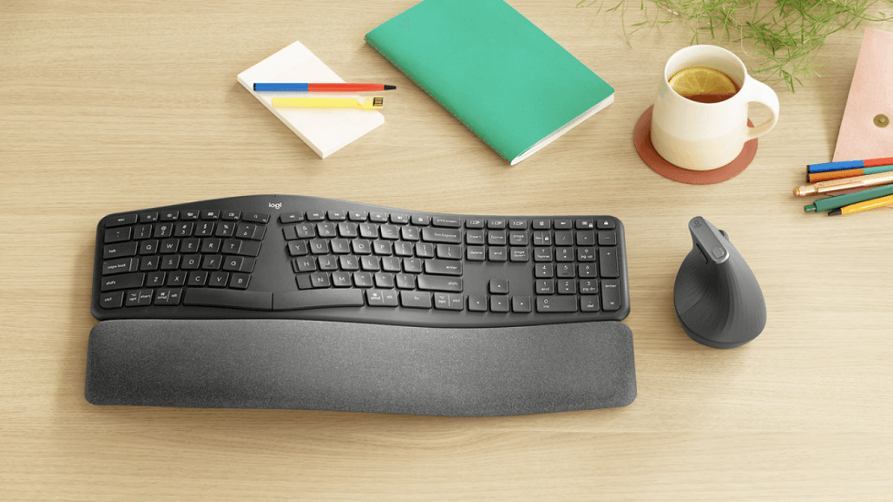 Logitech Ergo K860 Keyboard is Designed for Your Wrists