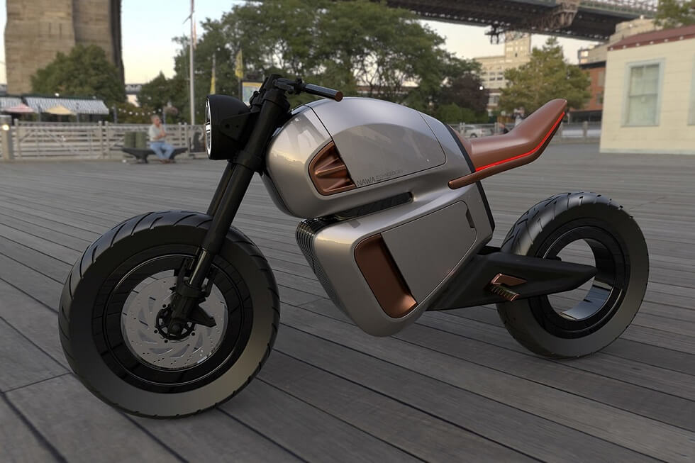 Nawa Hybrid e-Bike Uses Next-Gen Ultracapacitor for Boost Range