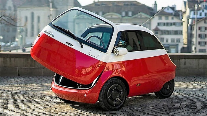 Microlino 2.0 electric microcar