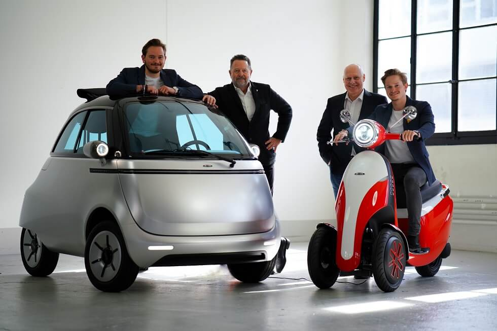 The New Microlino and Microletta Electrics are Next Level Commutes