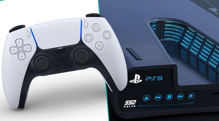 PS5 gaming controller
