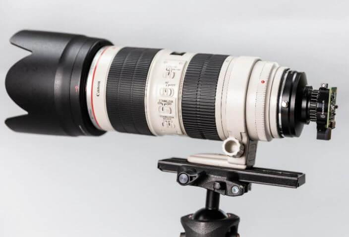 full-frame lens camera
