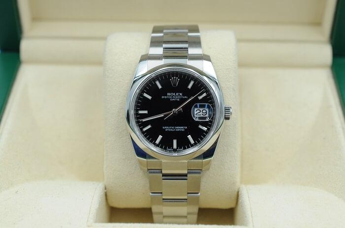 Rolex Perpetual 34mm Domed Bezel 115200