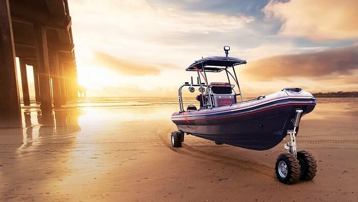 4WD ASIS Amphibious Boat