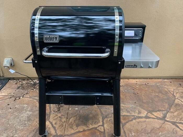 Weber SmokeFire Pellet Grill