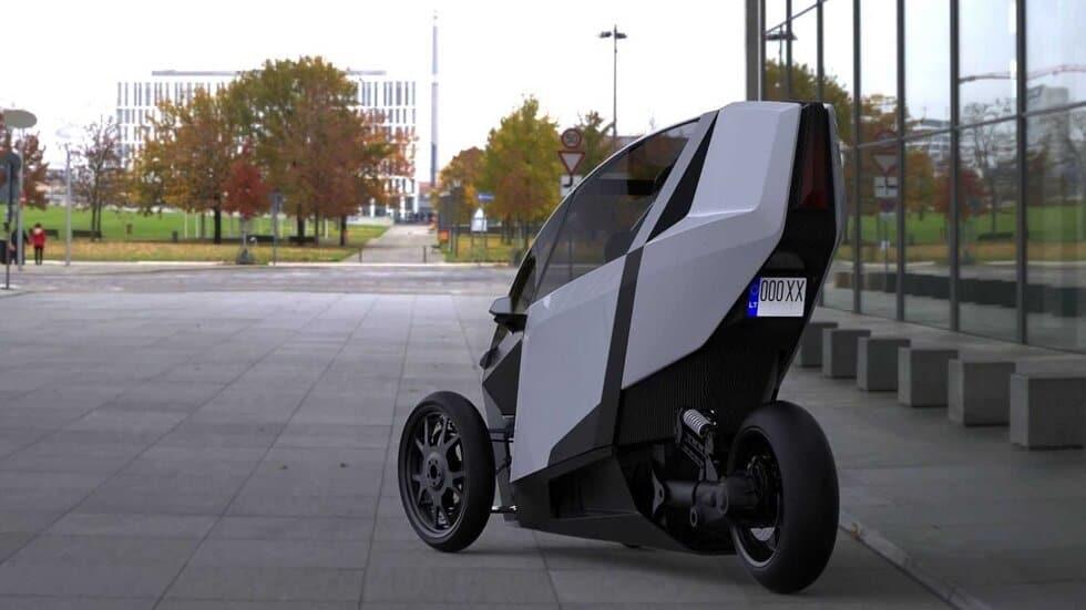AKO Trike with 300KM Range: A Car or Bike?