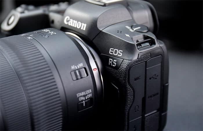 High end cameras for cinematography