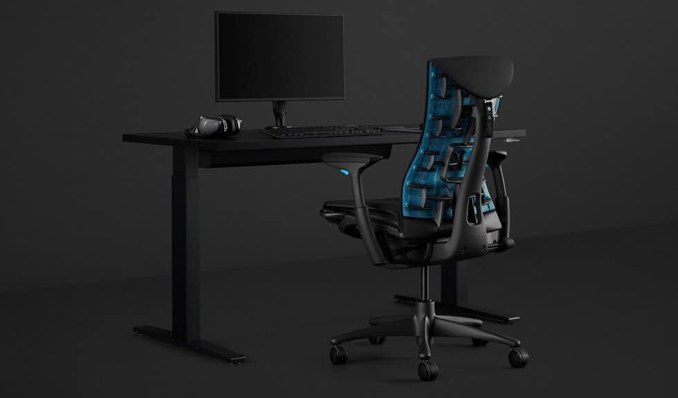 Embody Gaming Chair by Logitech and Herman Miller