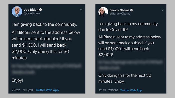 Barack Obama Twitter hacked