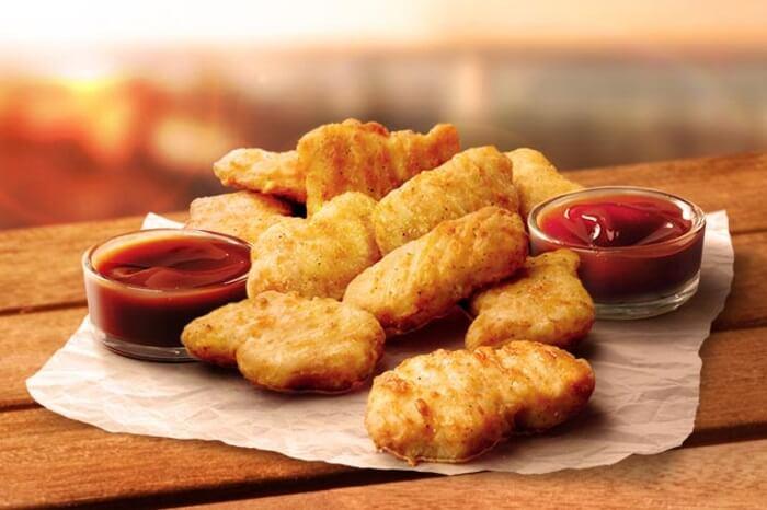 KFC 3D printed nuggets