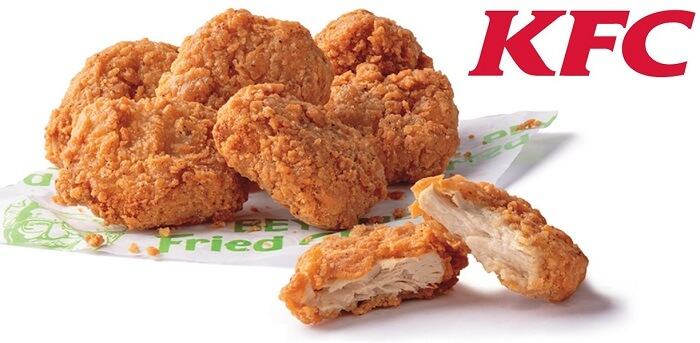 KFC Lab-Made Chicken Nuggets