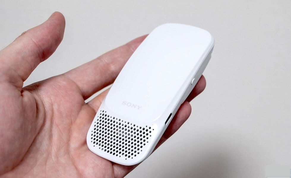 Sony Wearable Air Conditioner: Reon Pocket