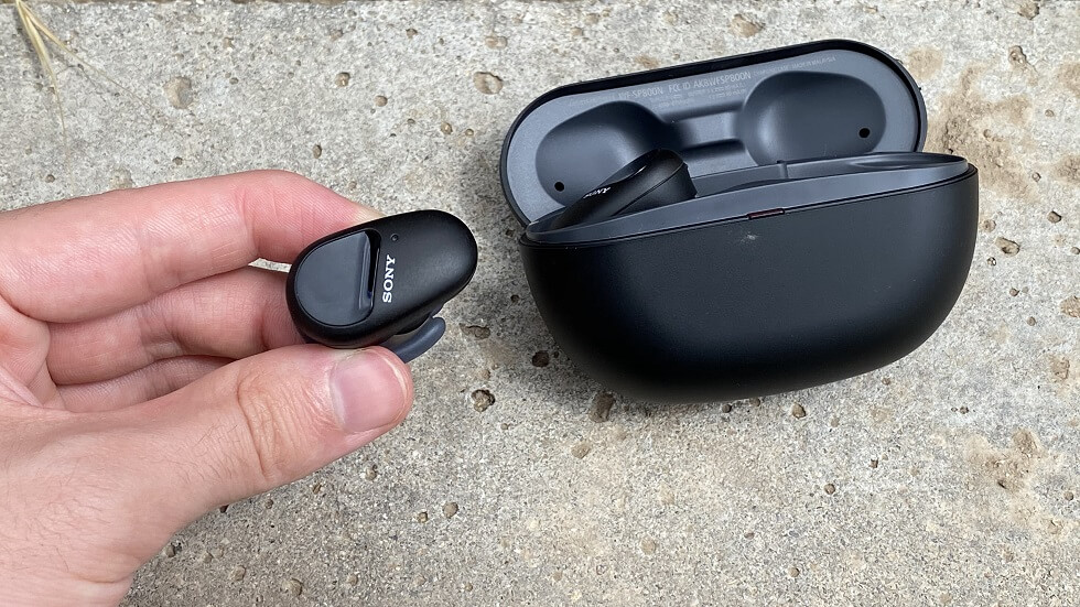 Sony WF-SP800N: Water-Resistant Wireless Earbuds