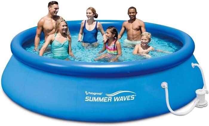 Summer Waves Quick Set Backyard Inflatable Pool - Best Backyard Inflatable Pools