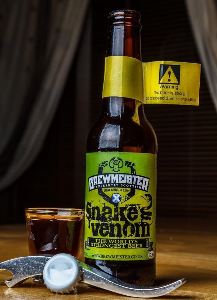 Brewmeister Snake Venom - Strongest Beers in 2020
