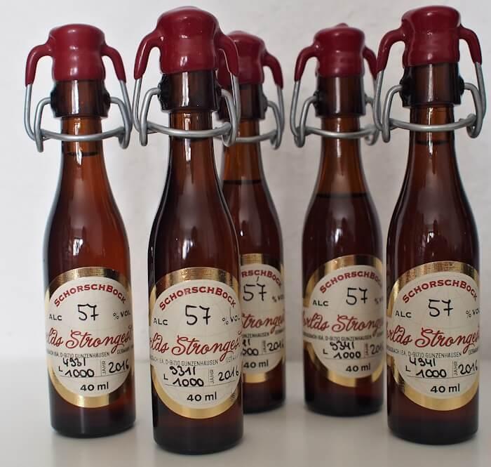 Schorschbrau 57% - Strongest Beers in 2020