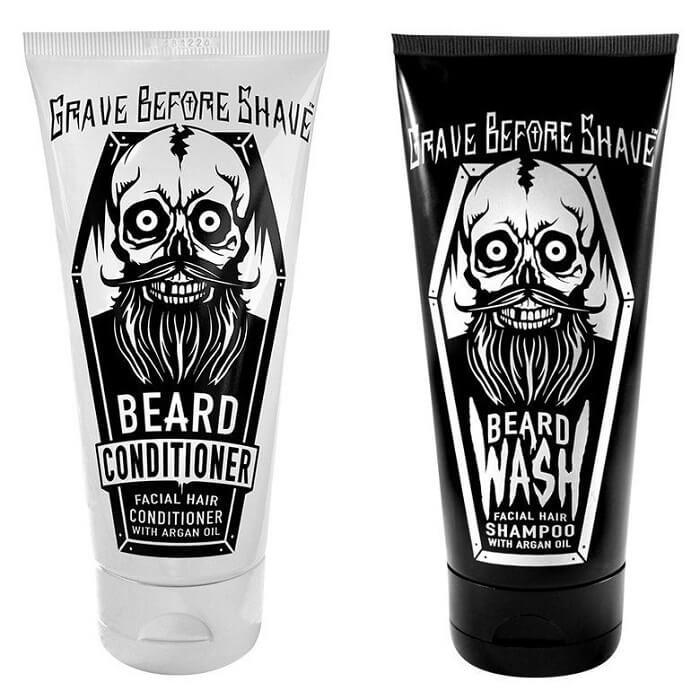 Grave Before Shave Beard Shampoo & Conditioner