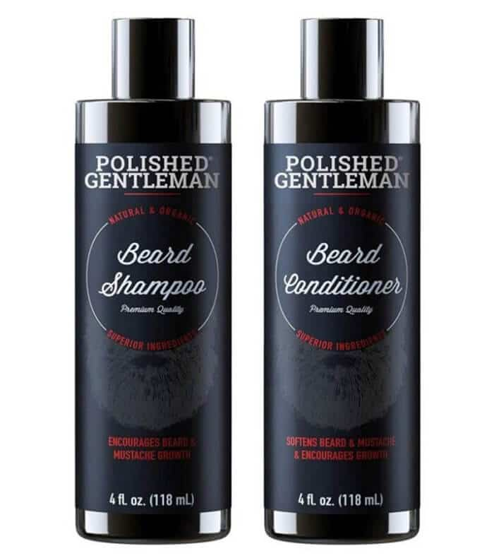 Polished Gentleman Beard Growth Shampoo and Conditioner