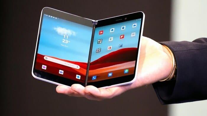 Latest dual screen smartphones