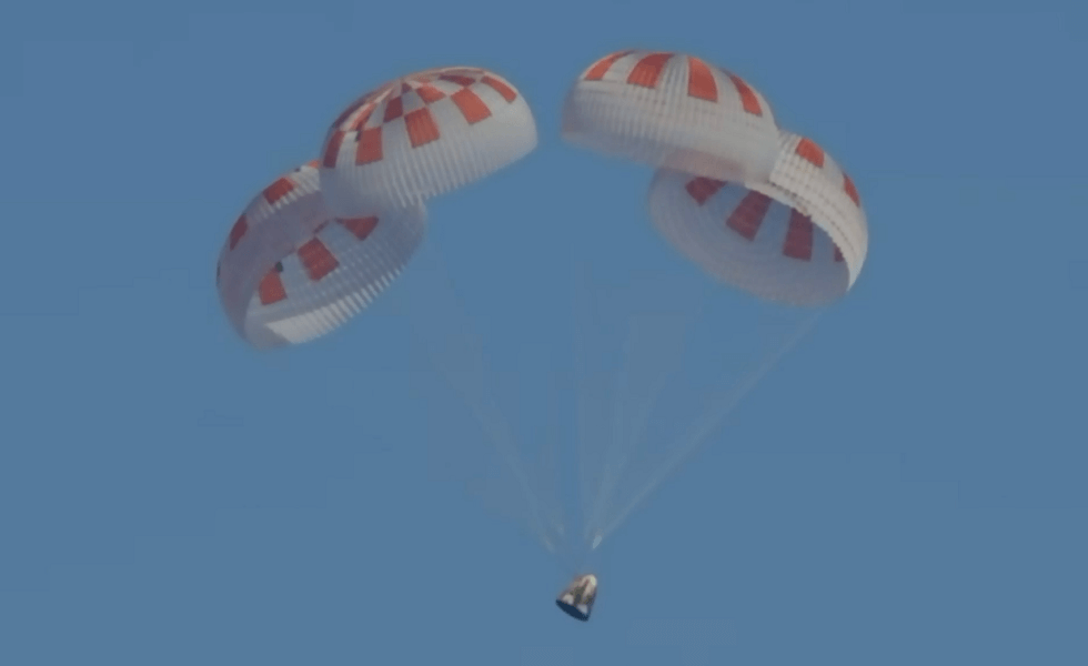 SpaceX Crew Dragon Returns with NASA Astronauts Back to Earth
