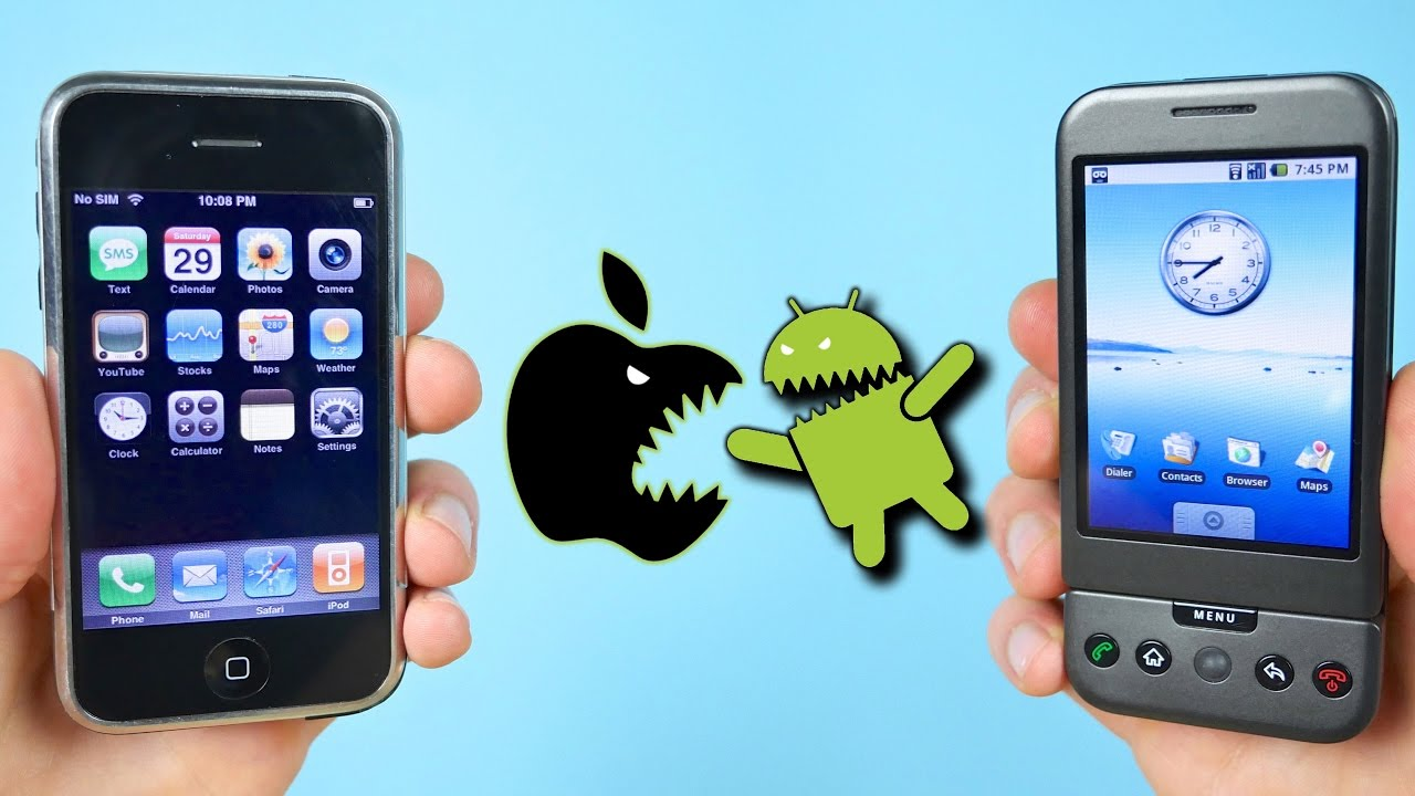 First iPhone vs First Android Phone: Which Came First?