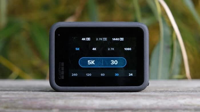 Latest GoPro cameras