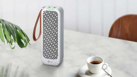 LG PuriCare Mini Air Purifier: Breath Clean Air