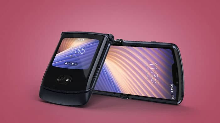 Razr 5G smartphone